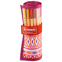 Buy Stabilo Festival Wrap of Pens, Pack of 25 Online at johnlewis.com