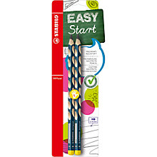 Buy Stabilo Left Handed HB Pencils, Pack of 2 Online at johnlewis.com