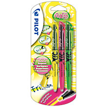 Buy Pilot Frixion Light Erasable Highlighters, Pack of 3 Online at johnlewis.com