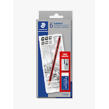 Buy Staedtler Tradition Sketching Pencils, Pack of 6 Online at johnlewis.com
