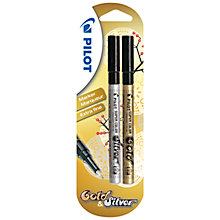 Buy Pilot Supercolour Extra Fine Marker Pens, Pack of 2 Online at johnlewis.com