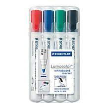Buy Staedtler Lumocolor Whiteboard Marker Pens, Pack of 4, Multi Online at johnlewis.com