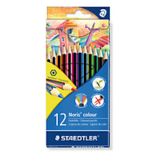 Buy Staedtler Noris Colouring Pencils, Pack of 12, Multi Online at johnlewis.com