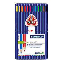 Buy Staedtler Ergo Soft Colouring Pencils, Pack of 12 Online at johnlewis.com