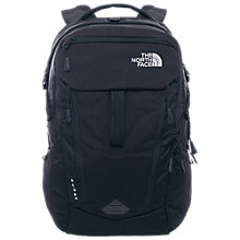 Buy The North Face Surge Backpack, Black Online at johnlewis.com
