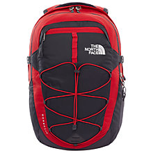 Buy The North Face Borealis Backpack, Red/Grey Online at johnlewis.com
