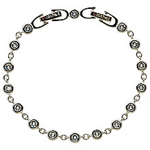 Buy Cachet Swarovski Crystal Linked Bracelet, Silver Online at johnlewis.com