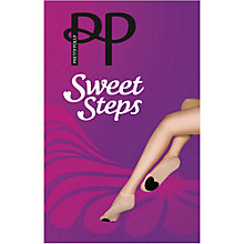 Buy Pretty Polly Sweet Steps Footsie Sock Liners, Nude Online at johnlewis.com