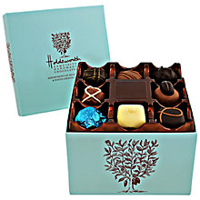 Buy Holdsworth Cube Chocolate Box, Blue, 200g Online at johnlewis.com