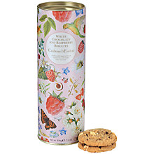Buy Crabtree & Evelyn, White Chocolate & Raspberry Biscuits Online at johnlewis.com
