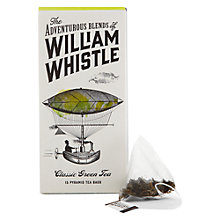 Buy William Whistle Classic Green Tea 15 Pyramid Bags Online at johnlewis.com