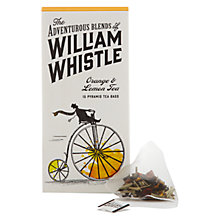 Buy William Whistle Orange & Lemon Tea, Pack of 15 Online at johnlewis.com