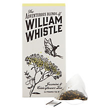 Buy William Whistle Jasmine & Elderflower Tea Bags, Pack of 15, 100g Online at johnlewis.com
