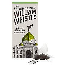Buy William Whistle Classic Black Tea 15 Pyramid Bags Online at johnlewis.com