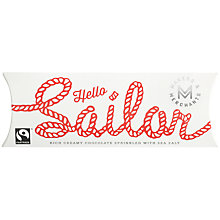 Buy Makers & Merchants, Hello Sailor Chocolate Bar With Sea Salt, 60g Online at johnlewis.com