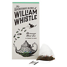 Buy William Whistle Moroccan Mint Tea, Pack of 15 Online at johnlewis.com