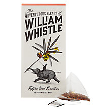 Buy William Whistle, Toffee Nut Rooibos Tea, Pack of 15 Online at johnlewis.com