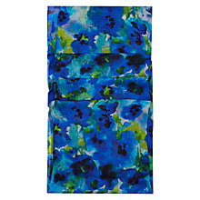 Buy Hobbs Ink Floral Scarf, Multi Blue Online at johnlewis.com