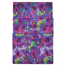 Buy Hobbs Ink Floral Print Scarf, Purple/Multi Online at johnlewis.com