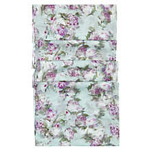 Buy Hobbs Fion Floral Scarf, Frost Blue Online at johnlewis.com