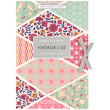 Buy Heathcote & Ivory Vintage Fabric & Flowers Scented Drawer Liners, x 6 Online at johnlewis.com