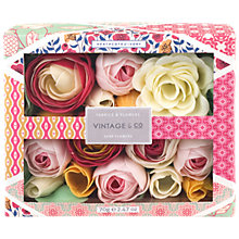 Buy Heathcote & Ivory Vintage Fabric & Flowers Soap Flowers Online at johnlewis.com