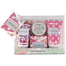 Buy Heathcote & Ivory Vintage Fabric & Flowers Mini Hand Care Set Online at johnlewis.com