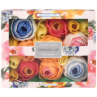 Image of Heathcote & Ivory Vintage Pattern & Petals Soap Flowers