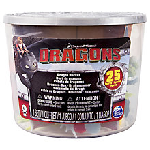 Buy Spin Master Dragons Bucket, 25 Figures Online at johnlewis.com