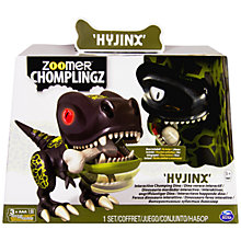 Buy Zoomer Robot Dino Chomplingz, Assorted Online at johnlewis.com
