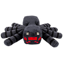Buy Minecraft Spider Soft Toy Online at johnlewis.com