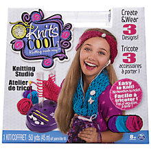 Buy Spin Master Knit's Cool Knitting Studio Online at johnlewis.com
