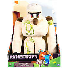 Buy Minecraft Iron Golem Soft Toy Online at johnlewis.com