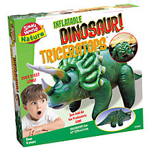 Buy Inflatable Dinosaur! Triceratops Online at johnlewis.com