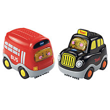 Buy VTech Toot Toot Drivers Bus & Taxi Duo Pack Online at johnlewis.com
