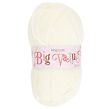 Buy King Cole Big Value Chunky Yarn, 100g Online at johnlewis.com