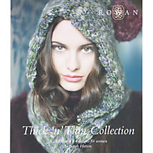 Buy Rowan Thick 'n' Thin Collection by Sarah Hatton Knitting Pattern Book Online at johnlewis.com