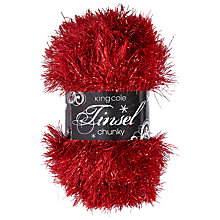 Buy King Cole Tinsel Chunky Yarn, 50g Online at johnlewis.com