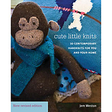 Buy Rowan Cute Little Knits by Jem Weston Knitting Pattern Book Online at johnlewis.com