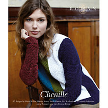 Buy Rowan Chenille Collection Knitting Pattern Book Online at johnlewis.com
