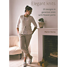 Buy Rowan Elegant Knits by Martin Storey Knitting Pattern Book Online at johnlewis.com