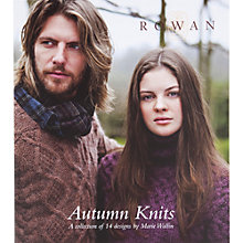 Buy Rowan Autumn Knits by Marie Wallin Knitting Pattern Book Online at johnlewis.com