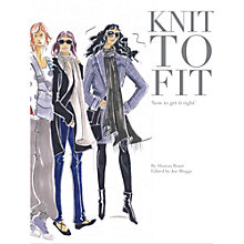 Buy Knit to Fit by Sharon Brant Knitting Pattern Book Online at johnlewis.com
