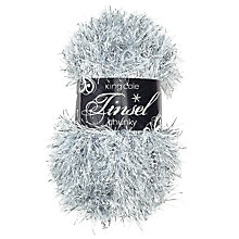 Buy King Cole Tinsel Chunky Knit Yarn, 50g Online at johnlewis.com