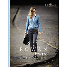 Buy Rowan Restyle No.1 Kidsilk Haze Knitting Pattern Book Online at johnlewis.com
