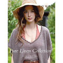 Buy Rowan Pure Linen Collection by Lisa Richardson Knitting Pattern Book Online at johnlewis.com