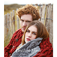Buy Rowan Brushed Fleece by Martin Storey Knitting Pattern Book Online at johnlewis.com