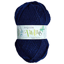 Buy King Cole Big Value Super Chunky Yarn, 100g Online at johnlewis.com