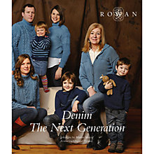 Buy Rowan Denim The Next Generation by Martin Storey Knitting Pattern Book Online at johnlewis.com