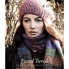 Buy Rowan Fazed Tweed by Marie Wallin Knitting Pattern Book Online at johnlewis.com